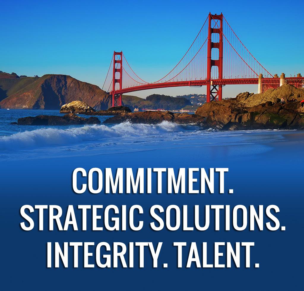 Commitment. Strategic Solutions. Integrity. Talent.